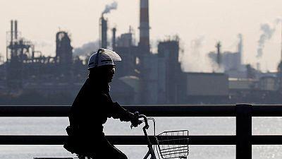 Japan September factory output rebounds, but risks cloud outlook