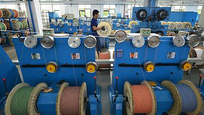 China October factory activity shrinks for sixth month - official PMI