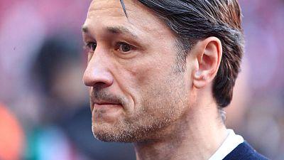 Bayern coach Kovac's future in doubt as he faces former club Eintracht