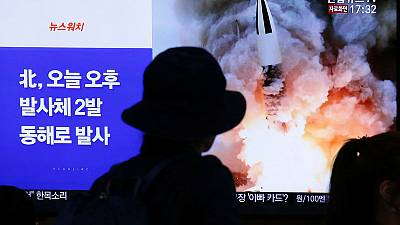 North Korea launches two possible 'ballistic missiles' into sea, Japan says
