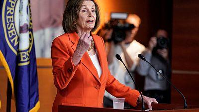 Trump impeachment effort passes first test in split U.S. Congress