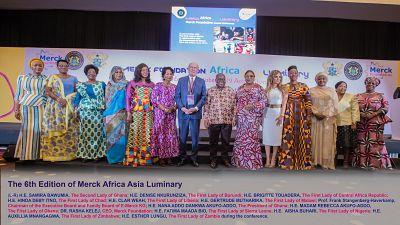 Le Président du Ghana, S.E. NANA ADDO DANKWA AKUFO-ADDO inaugure le « Merck Africa Asia Luminary » de la Fondation Merck pour renforcer les capacités de soins de santé en Afrique et en Asie