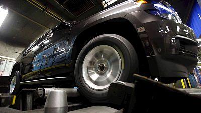 GM recalls 638,000 U.S. SUVs, trucks for unintended braking