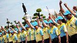 Thai king creates boot camp-style 'unity' courses