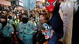 Hong Kong braces for mass rally over weekend after Halloween clashes
