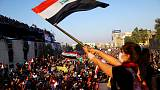 Iraqis pour into streets for biggest protest day since Saddam