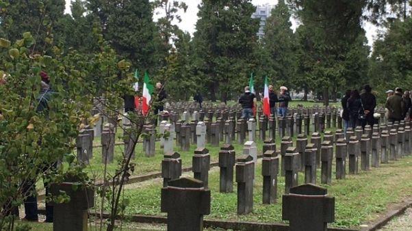 Anpi, neofascisti sotto tono al cimitero
