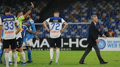 """Giuntoli """"Ancelotti calmava giocatori"""""""