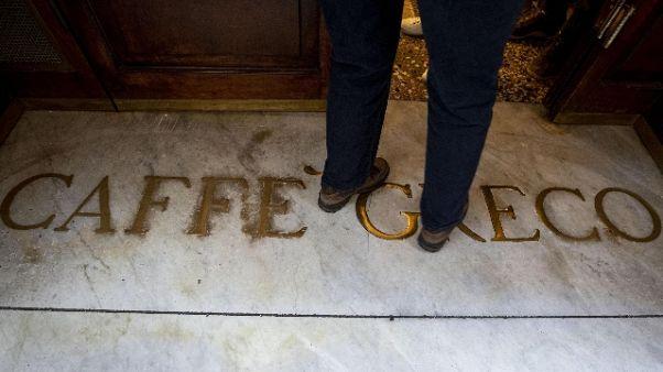 Caffè Greco:denuncia per post antisemiti