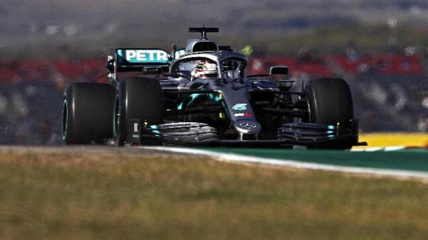 Gp Usa: seconde libere ad Hamilton