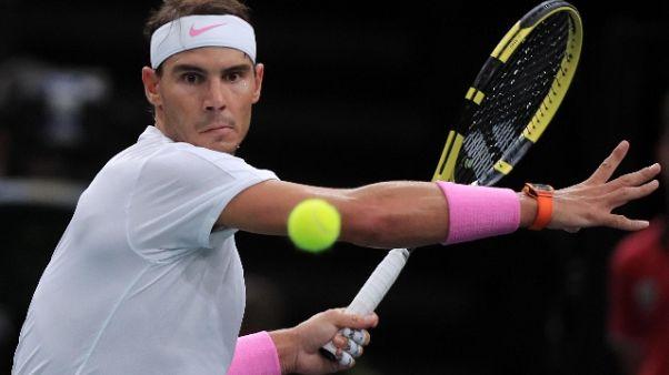 Atp Bercy: Nadal ultimo semifinalista