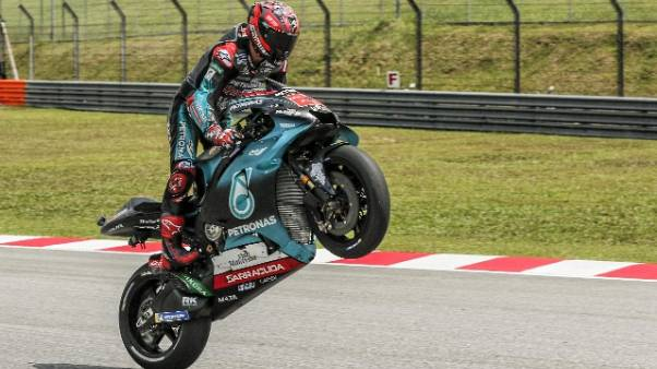 MotoGp: Malesia, pole a Quartararo