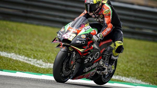 Moto: Malesia, Espargarò in 5/a fila
