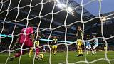 Aguero and Walker seal late victory for Manchester City
