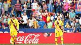 Barca lose at Levante following second-half collapse