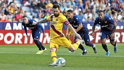 Spagna, Messi in gol ma Barcellona perde