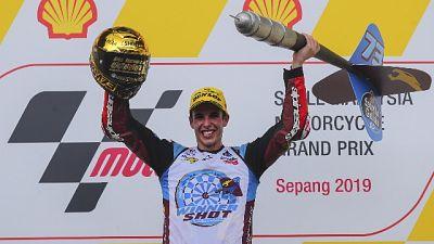 Alex Marquez campione del mondo in Moto2
