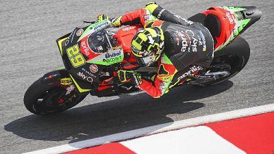 Moto: Aprilia a punti dopo gara sofferta