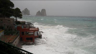Ultime partenze da Capri, stop aliscafi