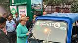 Merkel wants Germany to have 1 million electric car charging points by 2030