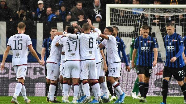 Colpo del Cagliari, Atalanta battuta 2-0