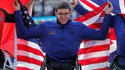 Romanchuk, Schar the unstoppable stars of wheelchair racing