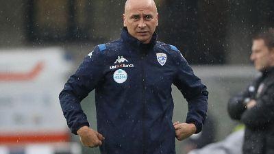 Brescia: esonerato l'allenatore Corini