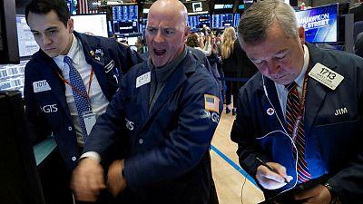 Stocks rise on trade hopes, dollar gains on risk appetite