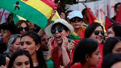 Bolivian opposition leader calls for new presidential election