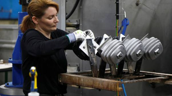 Euro zone October factory activity stuck in reverse as demand declines - PMI