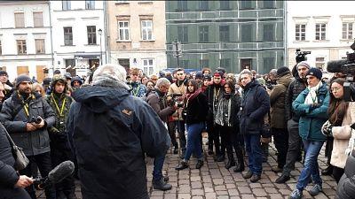 Shoah: studenti ad Auscwitz in lacrime