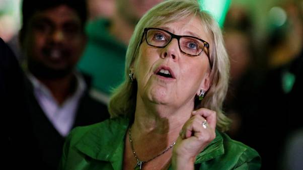 Leader of Canada's small Green Party quits after winning just three seats in election