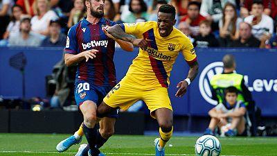 Semedo says Barcelona must improve to win Champions League