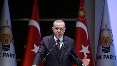 Turkey's Erdogan may call off U.S. trip after Congress votes - officials