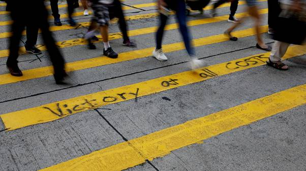 Hong Kong official deeply regrets civil servants taking part in protests