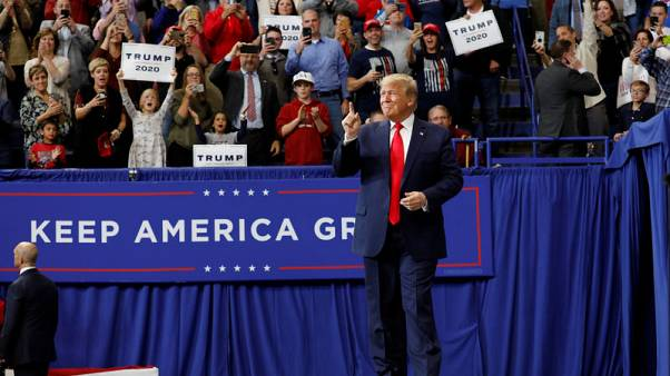 Trump urges Kentucky ahead of state vote: Send impeachment Democrats a message