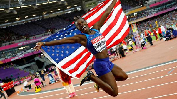 Hurdler Harper Nelson ends retirement to chase Olympic gold