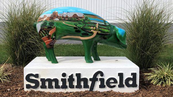 At Smithfield Foods' slaughterhouse, China brings home U.S. bacon