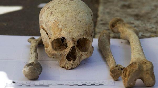 Resti umani trovati nel Lecchese