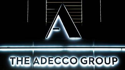 Staffing firm Adecco feels chill on hiring from economic slowdown