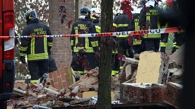 Esplode edificio, un morto di Reggio C.