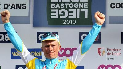 Liegi 2010: Vinokourov non fece combine