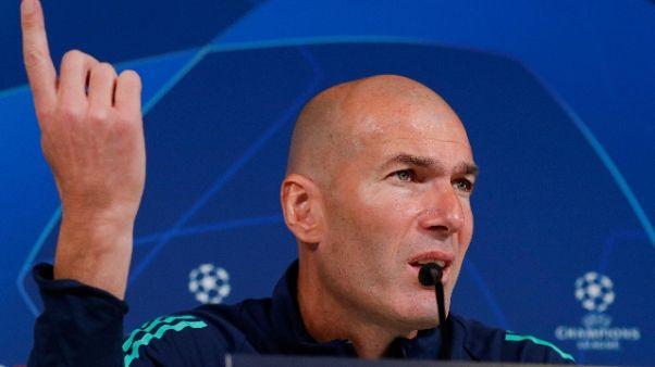 Zidane, voglio che Bale rimanga con noi