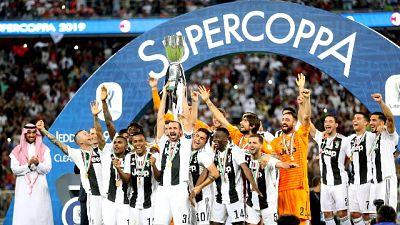 Supercoppa: Juve-Lazio si gioca a Riad