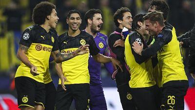 Champions: Inter rimontata a Dortmund