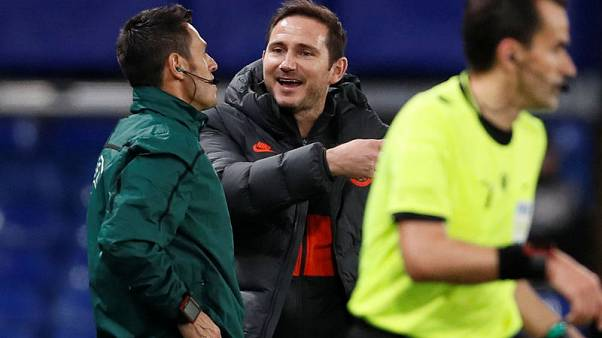 Lampard relives Chelsea wild days with 'a mad one' in Champions League