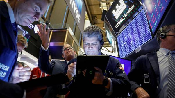 Risk rally pauses on U.S. data, trade talk caution