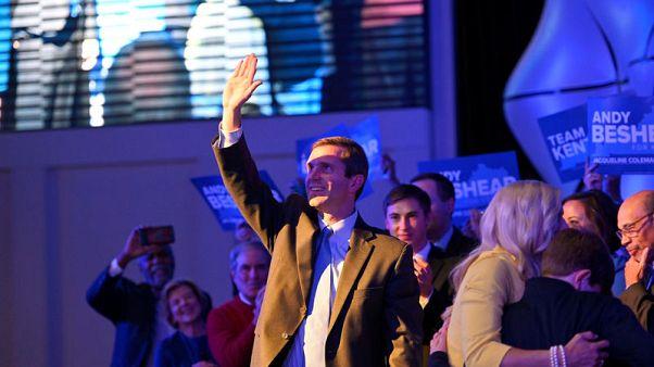 Democrats claim victory over Trump-backed Kentucky governor, seize Virginia legislature