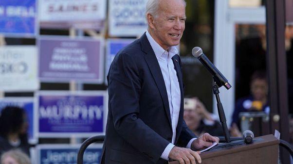 U.S. presidential contender Biden calls Warren jab 'elitism'