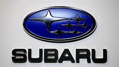 Japan's Subaru cuts annual profit outlook on yen, typhoon impact